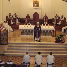 Ordenación de tres diáconos permanentes en el Seminario de Oviedo