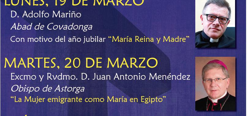 Conferencias Cuaresmales arciprestazgo de Oviedo. Charla D. Adolfo Mariño, Abad de Covadonga
