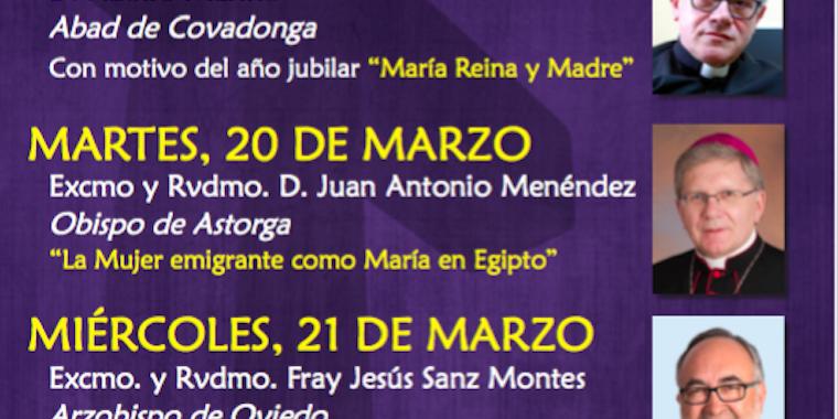 Conferencias Cuaresmales del arciprestazgo de Oviedo