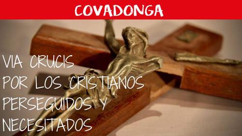 Ayuda a la Iglesia Necesitada organiza un Vía Crucis en Covadonga