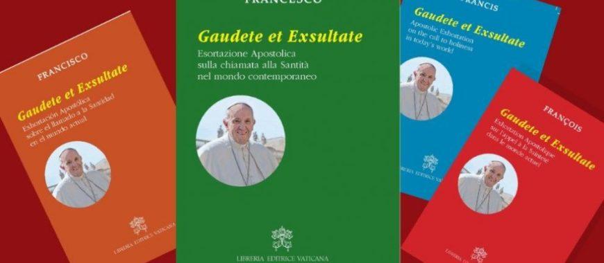 Nueva Exhortación Apostólica del Papa Francisco sobre la Santidad