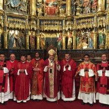 Ordenaciones diaconales y presbiterales. 20 de mayo de 2018