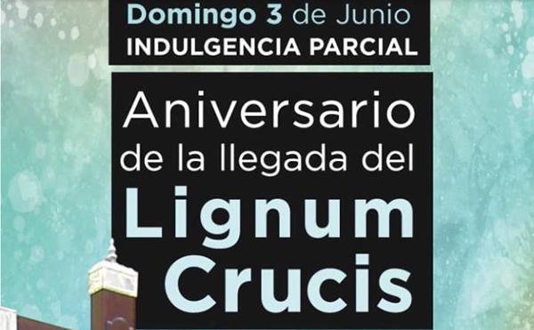 Aniversario de la llegada del Lignum Crucis en Avilés