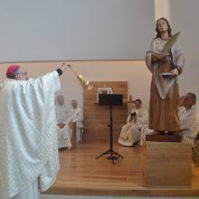 Inauguración Parroquia Santa Olaya (Gijón)