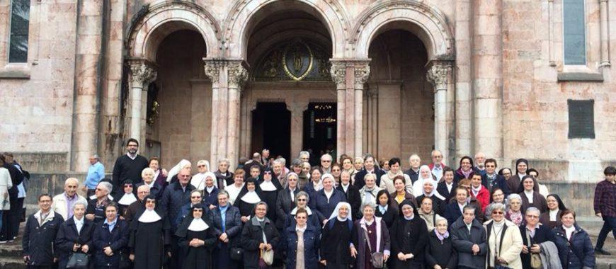 Celebración del final de curso pastoral para los religiosos