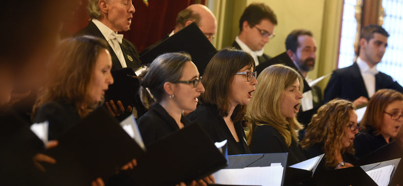 El Coro de la Fundación Princesa de Asturias actuará en la Basílica de Covadonga