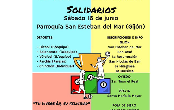 II Torneos Deportivos Solidarios