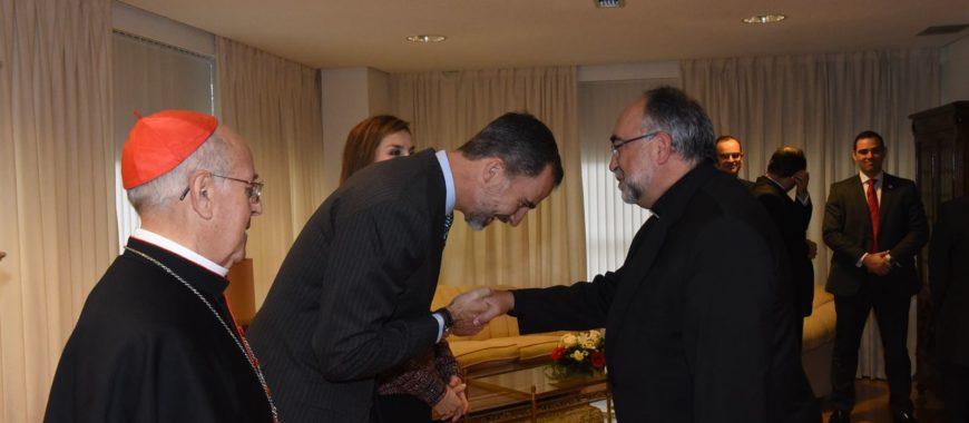 """""""La Familia Real en Covadonga, una buena noticia"""", afirma Mons. Jesús Sanz"""
