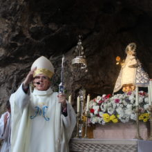 Mons. Carlos Osoro inaugura la Novena en honor a la Santina 2018