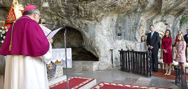 Álbum de fotos. La Familia Real en Covadonga