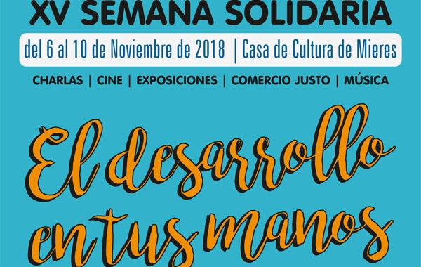 XV Semana Solidaria de Mieres