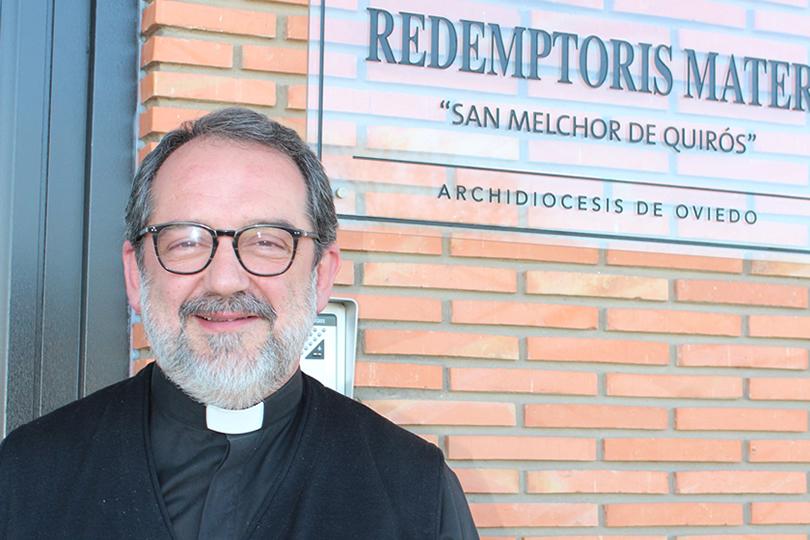 M.I. Sr. D. Eloy Pascual Arias, rector del Seminario Redemptoris Mater