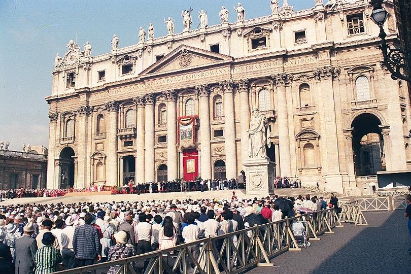 Canonización de San Melchor de Quirós en Roma