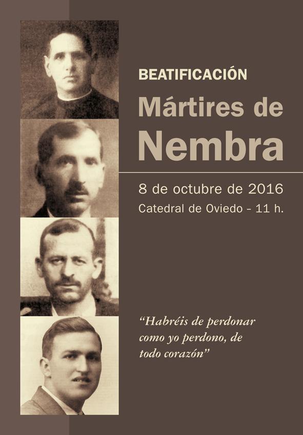 Cartel de la Beatificación de los Mártires de Nembra