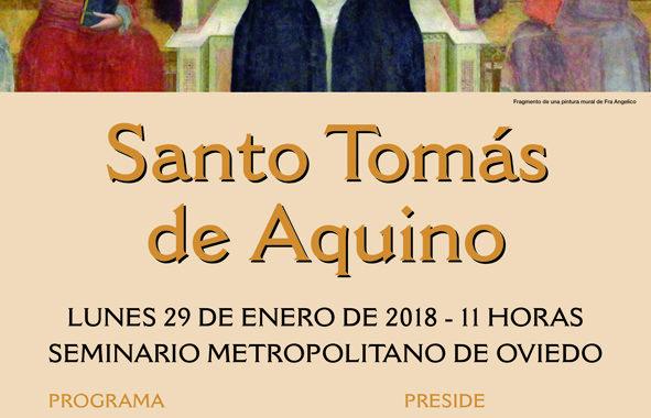 Celebración de Santo Tomás de Aquino, en el Seminario