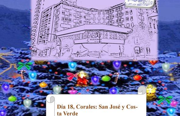 Jornadas corales de villancicos en Nuestra Señora de Begoña (Gijón)