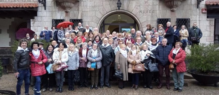 Peregrinación de la Adoración Eucarística Perpetua a Covadonga