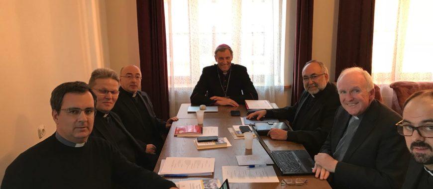 Mons. Jesús Sanz, nombrado miembro de la Comisión de Evangelización y Cultura del Consejo de Conferencias Episcopales de Europa (CCEE)