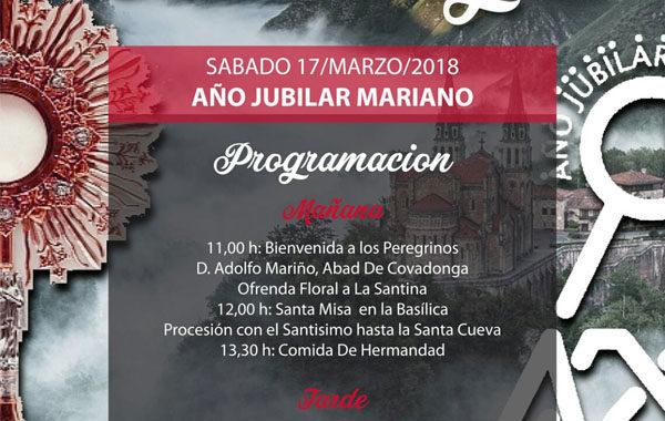 Peregrinación a Covadonga de la Adoración Perpetua en Asturias