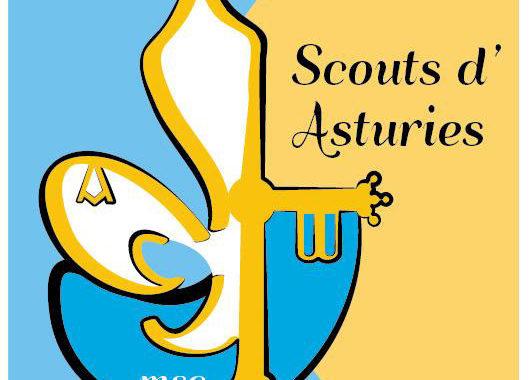 Los scouts católicos celebran San Jorge en Covadonga