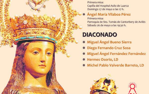 Ordenaciones sacerdotales y diaconales en la Catedral
