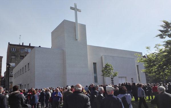 Nace el nuevo templo de la parroquia de Santa Olaya