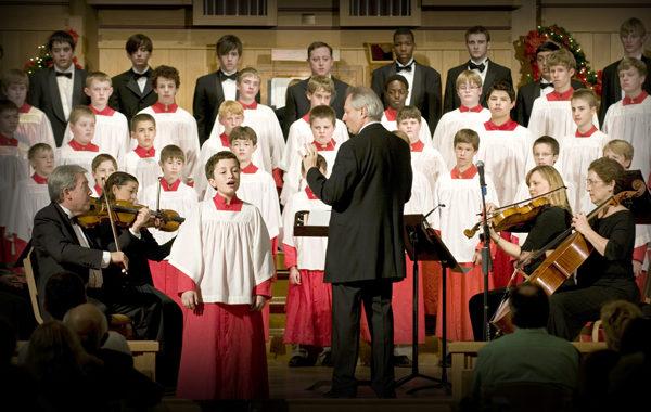 El Phoenix Boys Choir en Covadonga