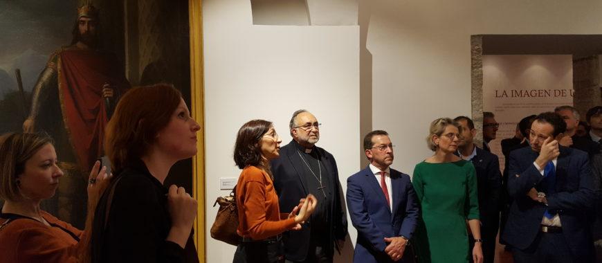 Inaugurada en Covadonga la exposición «La imagen de un Reino»