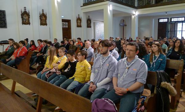 Misa Joven en el Seminario