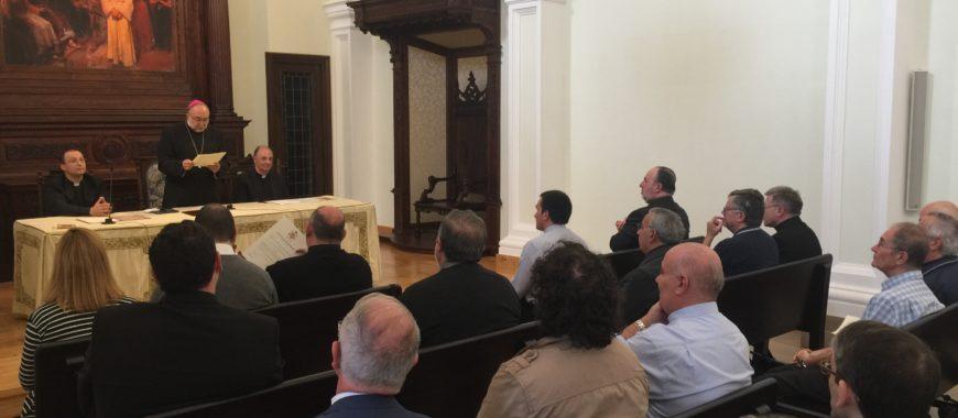 Entrega de nombramientos en el Obispado