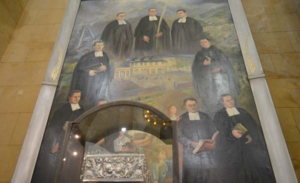 El 9 de octubre, fiesta de los mártires de Turón