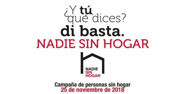 Domingo 25, Campaña de personas sin hogar