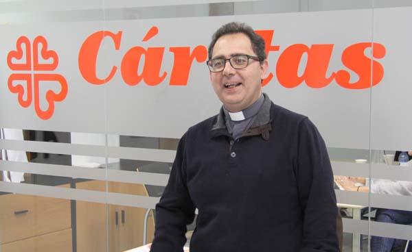"""Cáritas es la Iglesia que callejea la fe"""