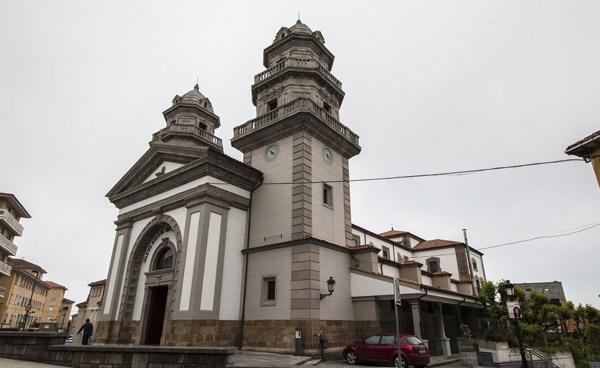 Encuentro de cofradías en Candás