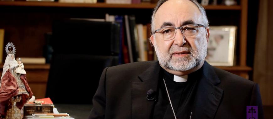 Felicitación navideña de Mons. Jesús Sanz