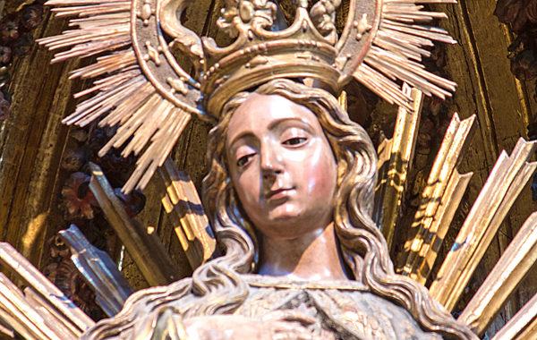 Vigilia de la Inmaculada y santa misa
