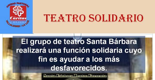 Teatro solidario en la UP de Villalegre-La Luz
