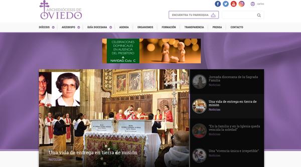 Suscripción a las noticias en la web diocesana