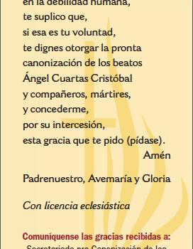 Oración para su pronta Canonización