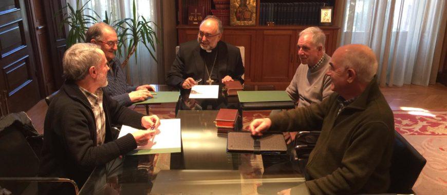 Delegados de Vida Consagrada de la Provincia Eclesiástica se reúnen con el Arzobispo