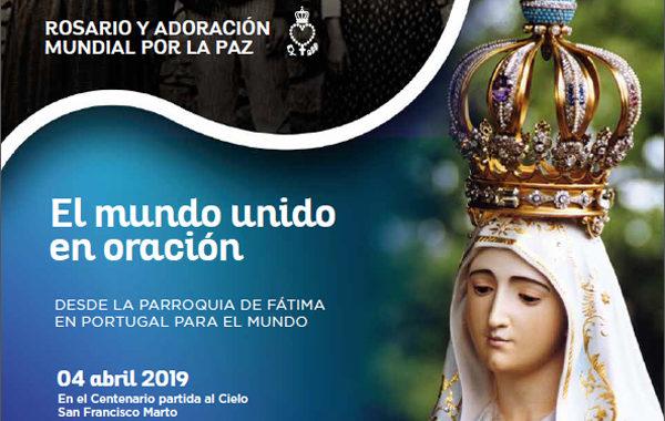 Covadonga se une al rosario por la paz de Mater Fátima este jueves