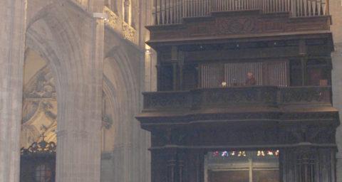 Asistentes a la Santa Misa