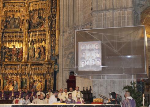 Reliquias y cuadro seminaristas