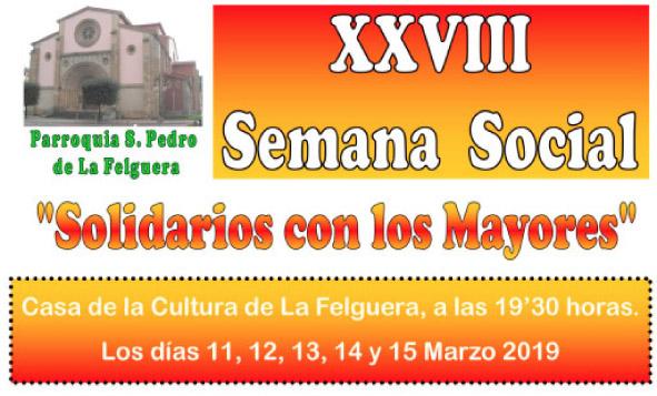 """""""Solidarios con los mayores"""", en La Felguera"""