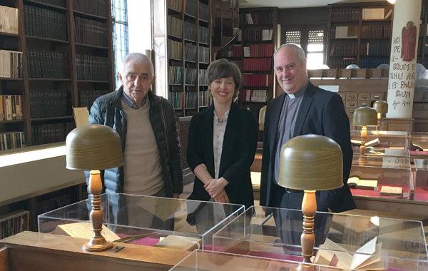 Autores asturianos en la biblioteca del Seminario