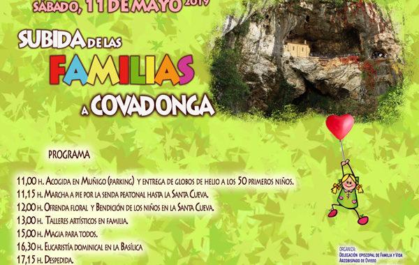 La cita anual de las familias en Covadonga