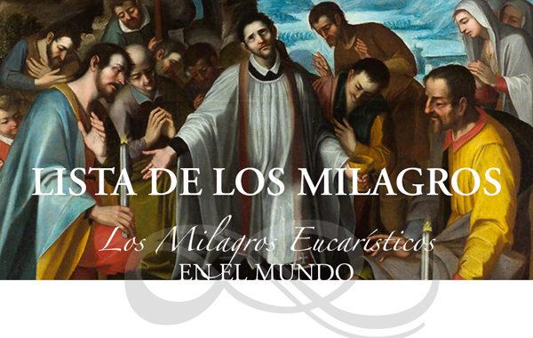 """""""Milagros eucarísticos"""""""