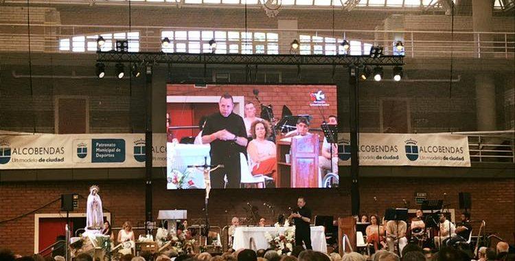 Una delegación asturiana participa en la Asamblea Nacional de la Renovación Carismática