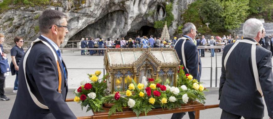 Las reliquias de santa Bernardita Soubirous visitan la diócesis