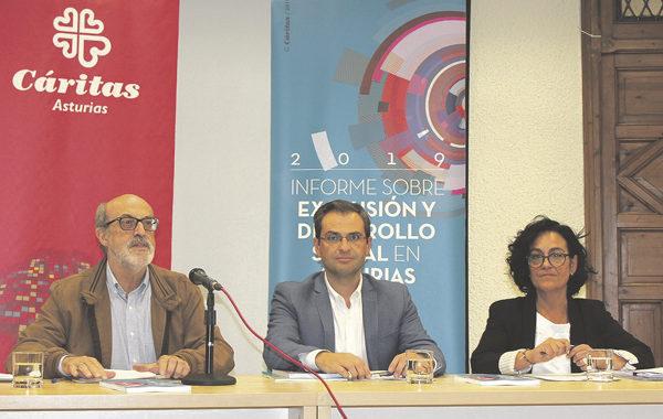 """La exclusión se """"enquista"""" en Asturias"""